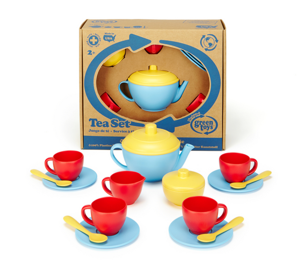 Green Toys Tea Set, Blue