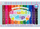 Double Dip Scented Markers, Set of 12