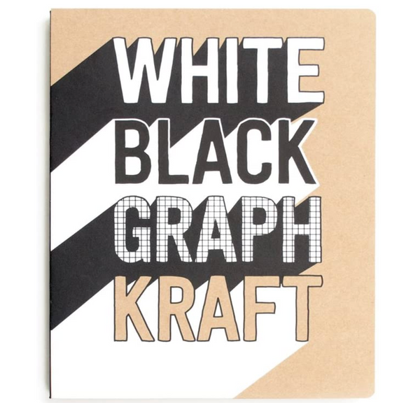 The PaperWorks Sketchbook: White, Black, Graph & Craft Paper