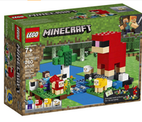 Lego Minecraft: The Wool Farm