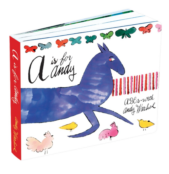 A is for Andy Warhol, Board Book