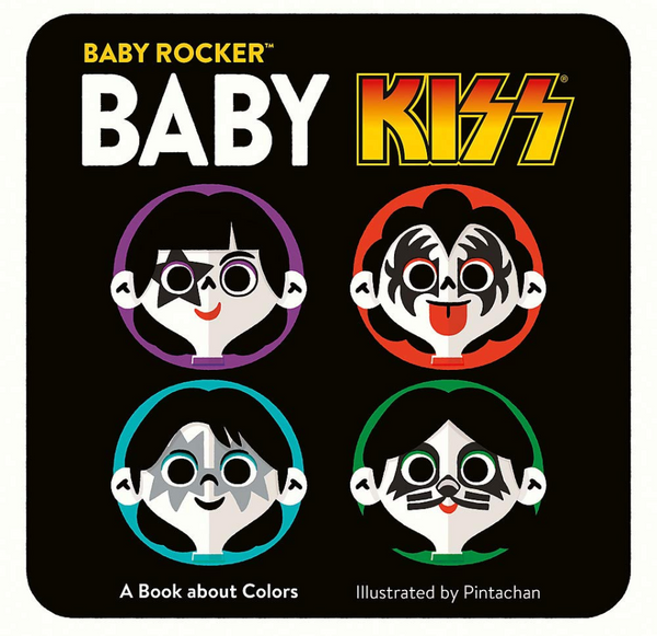 Baby KISS: A Book about Colors, Board Book