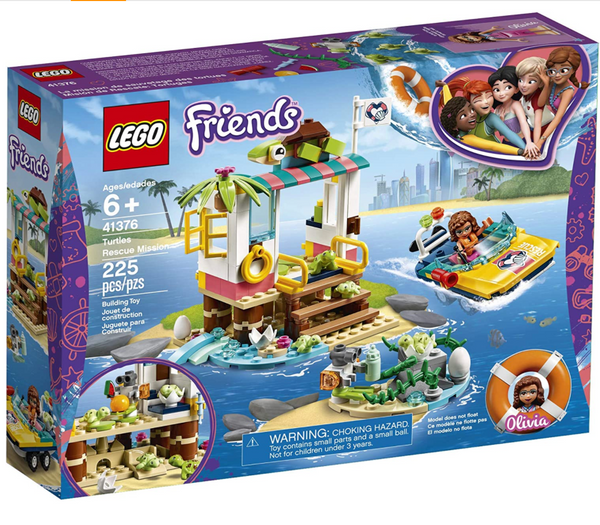 LEGO Friends: Turtles Rescue Mission