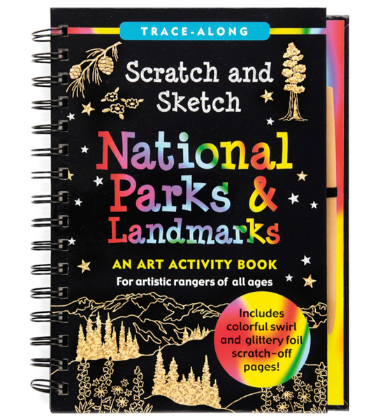 Scratch and Sketch: National Parks & Landmarks