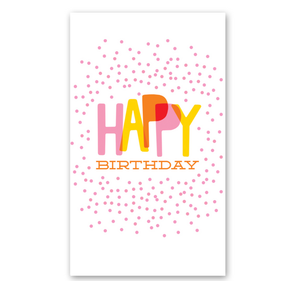 Mini Card: Confetti Birthday