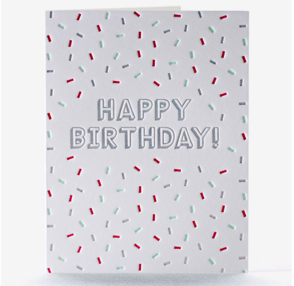 Birthday Card: Ice Cream Delight