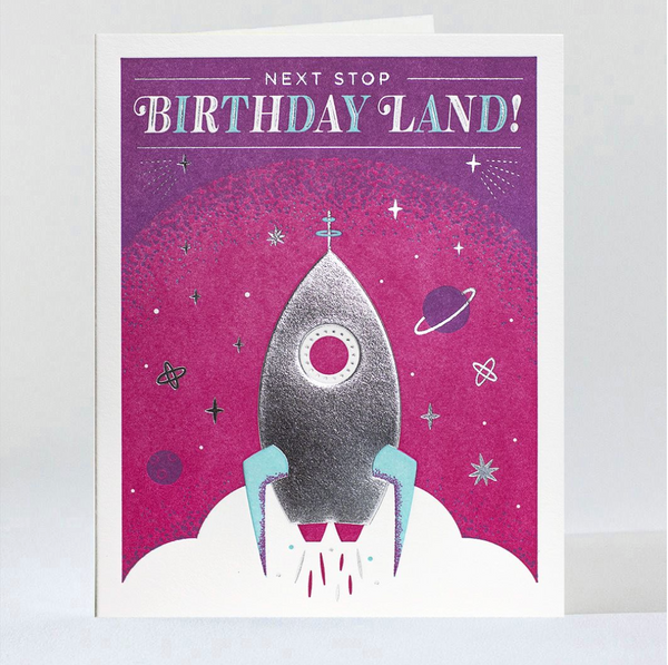 Birthday Card: Orbit