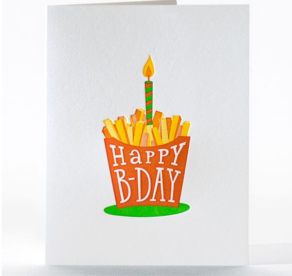 Birthday Card: French Fried