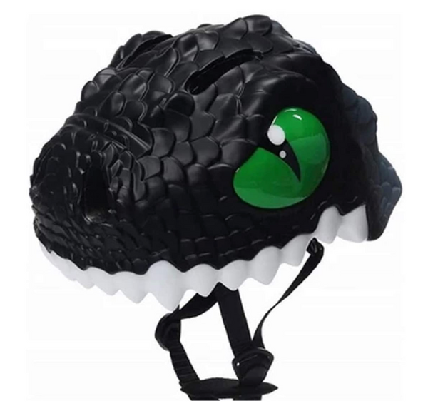Animiles Black Dragon Helmet (S/49- 55 cm)