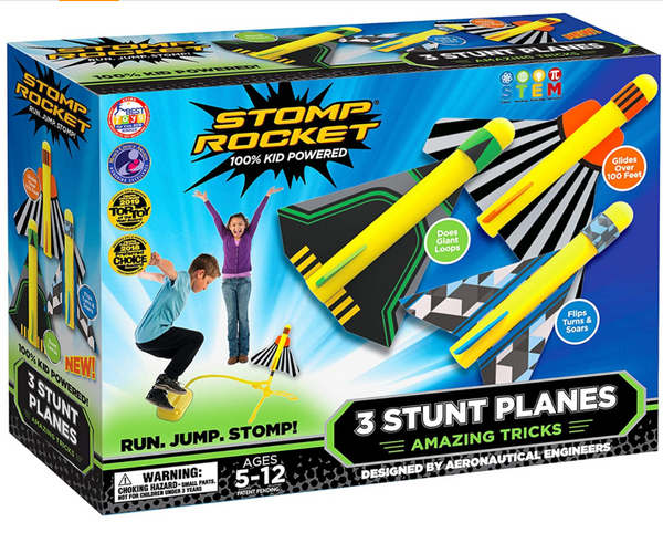 Stomp Rocket: Stunt Planes
