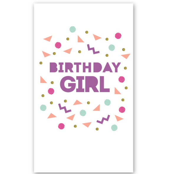 Mini Card: Birthday Girl