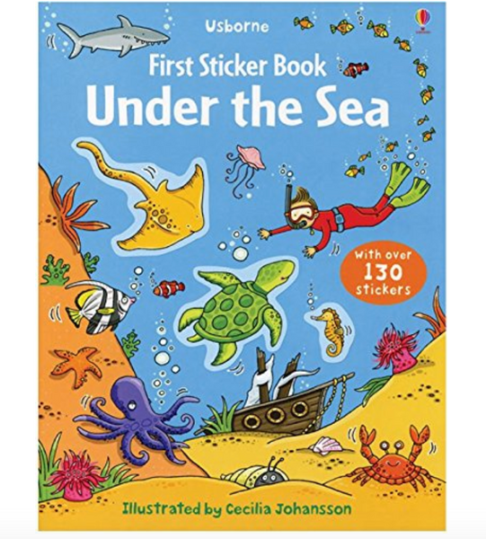 First Sticker Book: Under The Sea