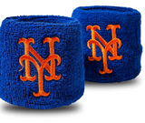 MLB Wristbands Mets 2.5""