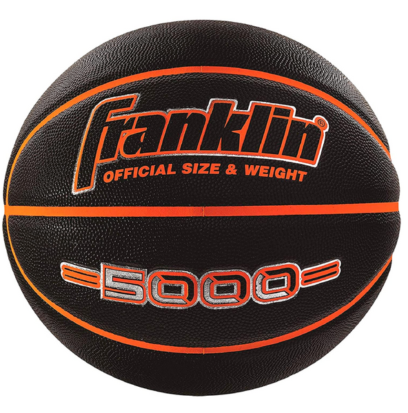 "Indoor/Outdoor 29.5"" Basketball, Black"