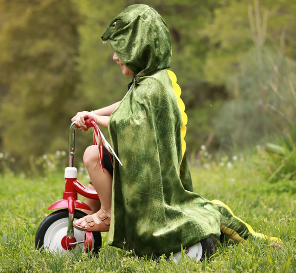 T-Rex Hooded Cape (Size 4-6)