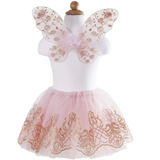 Rose Gold Tutu & Wings Set (Size 4-7)
