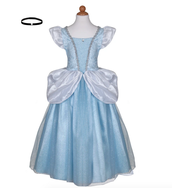 Deluxe Cinderella Gown (Multiple Sizes)