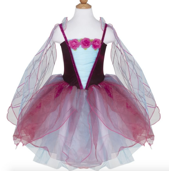 Fairy Blossom Dress with Wings (Ages 5-6)