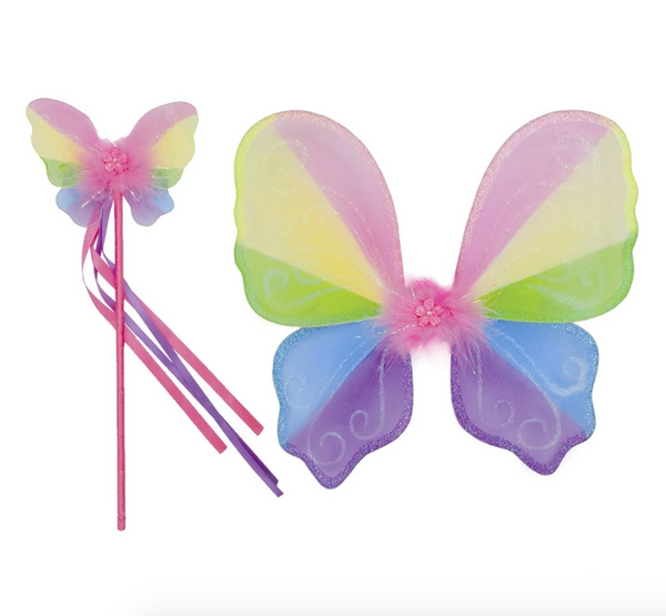 Snazzy Sparkle Wings & Wand Set
