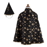 Reversible Wizard Cape & Hat (Size 4-6)