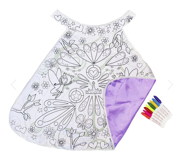 Color-A-Cape: Fairy (Size 4-7)