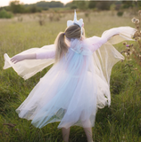 Unicorn Mesh Cape (Size 4-6)