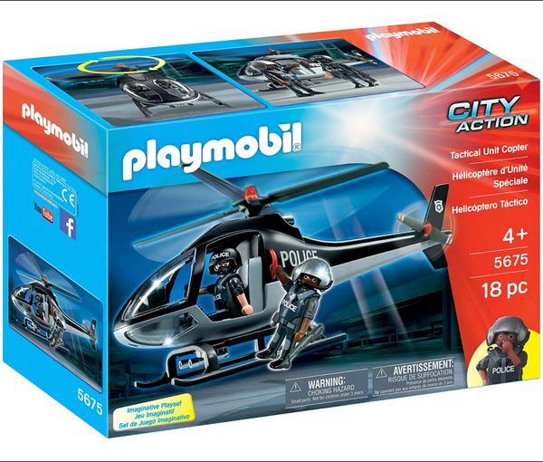 Playmobil: Tactical Unit Copter
