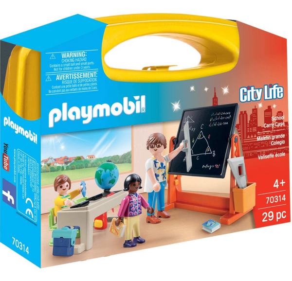 Playmobil: School Carry Case