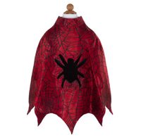 Spiderman Cape Set with Masks & Cuffs (Size 3-4)