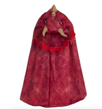 Triceratops Hooded Cape (Size 4-6)
