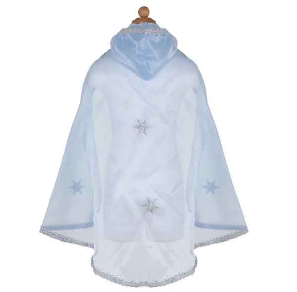 Blue Snow Queen Cape (Size 3-6)