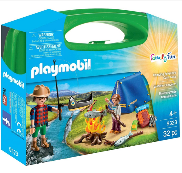 Playmobil: Camping Adventure Carry Case