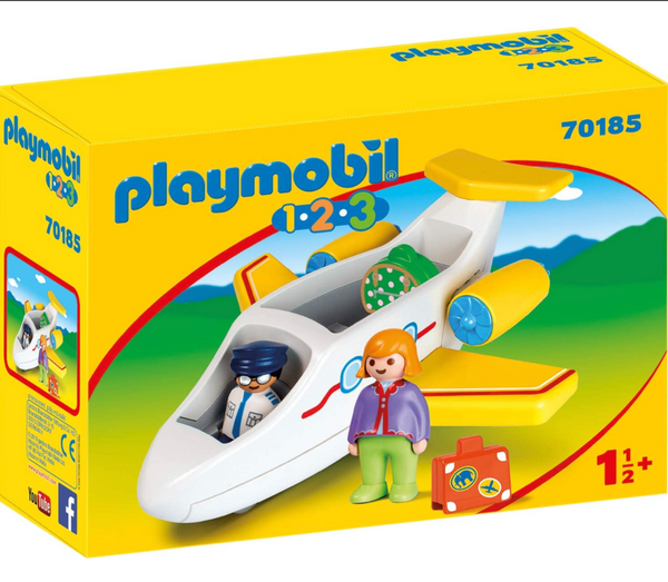 Playmobil 1-2-3: Plane with Passenger