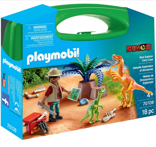 Playmobil: Dino Explorer Carry Case