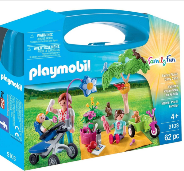 Playmobil: Family Picnic Carry Case