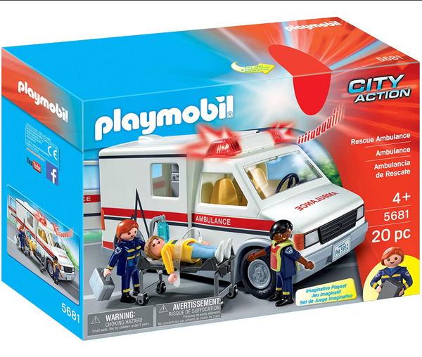Playmobil: Rescue Ambulance w/Lights & Sound
