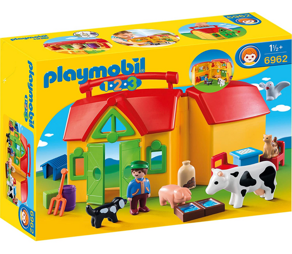 Playmobil 1-2-3: My Take Along Farm