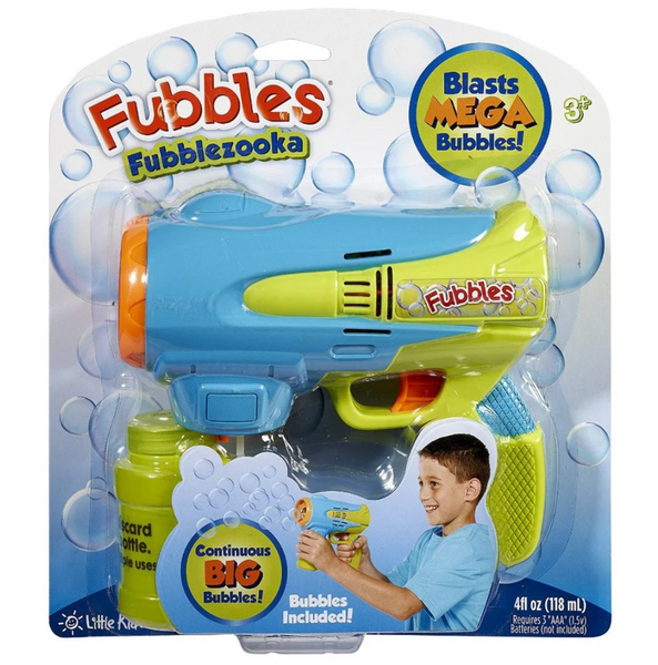 Fubblezooka Bubble Gun