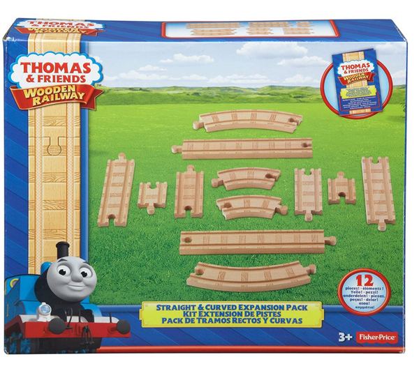 Thomas & Friends: Straight & Curved Expansion Set