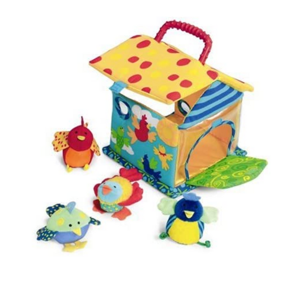 Put and Peek Birdhouse Activity Toy