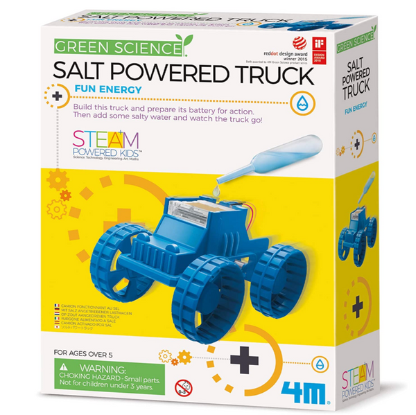 Salt Powered Truck Science Kit