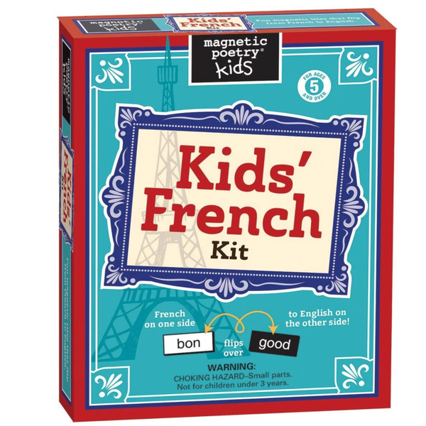 Magnetic Poetry: Kids' French Kit