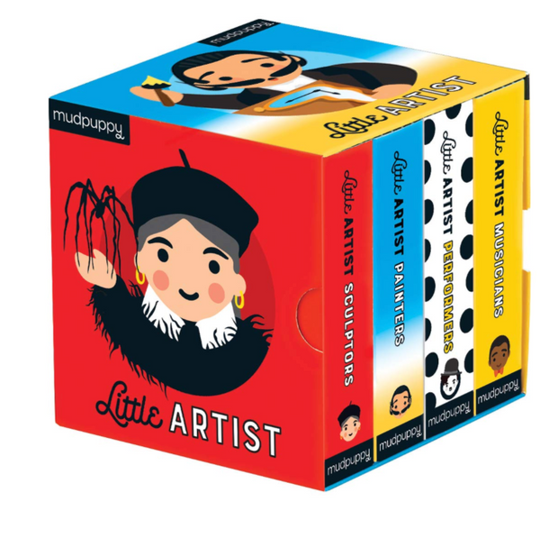 Little Artist Board Books, Set of 4