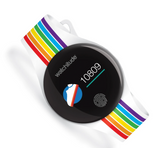 Move Watch: Rainbow Stripes (Activity & Health Watch)