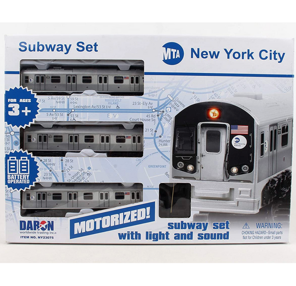 MTA Motorized Subway w/ Tracks
