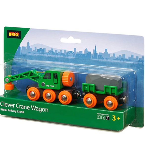 Clever Crane Wagon Train