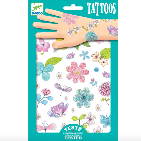 Temporary Tattoos: Fair Flowers of the Field