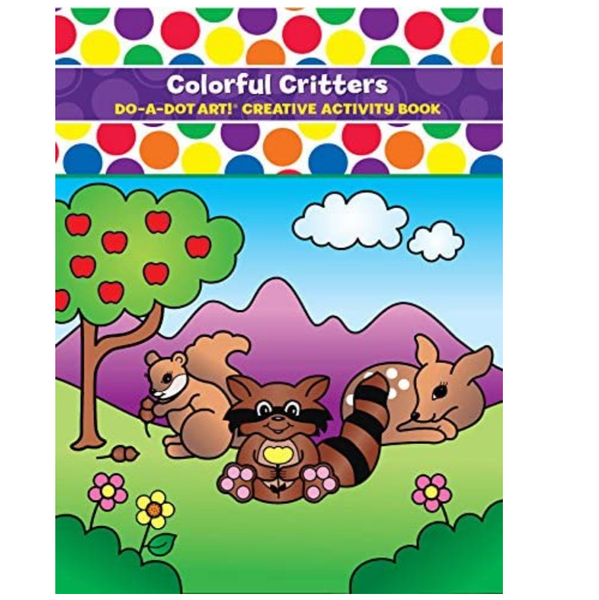 Do-A-Dot: Colorful Critters Coloring Book