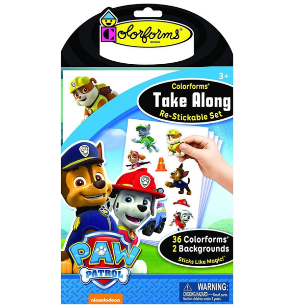 Colorforms: Take Along Paw Patrol