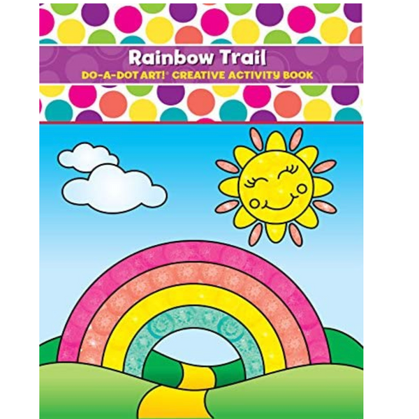 Do-A-Dot: Rainbow Trail Coloring Book